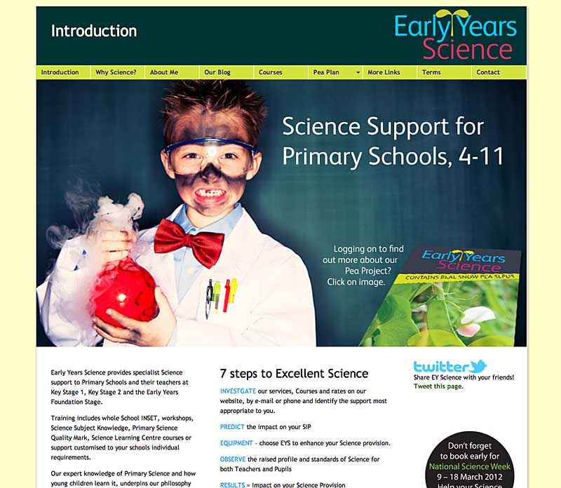 Case Study 2: Early Years Science